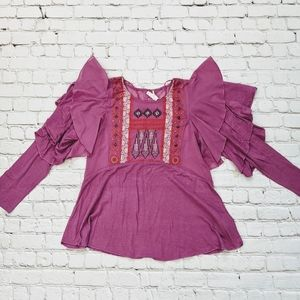 Free People Tops - Free People Lilac La Cienega Top
